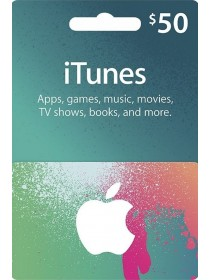 Apple iTunes $50 Dollar Gift Card - [US]