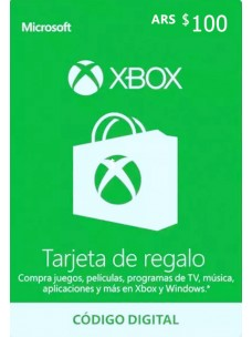 Xbox Live Gift Card 100 ARS - [Argentina]