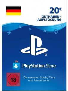 PlayStation Network Card Euro 20€ PSN - [DE]