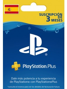 PlayStation Plus 90 Days PS+ Card for ES Store