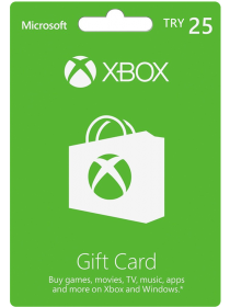 Xbox Live Gift Card 25 TRY - [Turkey]
