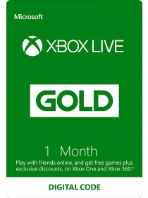 Xbox Live Gold - 1 Month Subscription