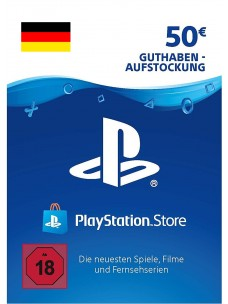 PlayStation Network EUR 50 PSN Card for DE Store