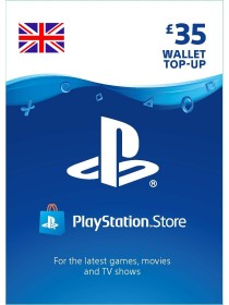 PlayStation Network Card GBP 35 PSN - [UK]