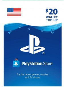 PlayStation Network USD 20 PSN Card for US Store